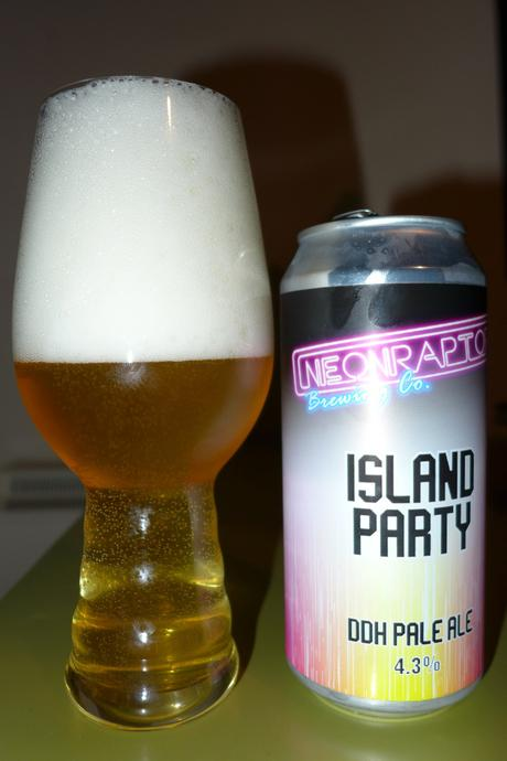 Tasting Notes: Neon Raptor: Island Party DDH Pale Ale