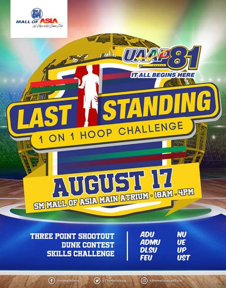 UAAP Season 81 holds pre-season event, 'The Last One Standing' at SM Mall of Asia   Press Release