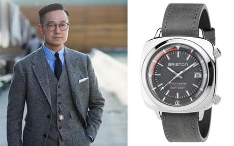 How to Punctuate Your Outfit with a Watch
