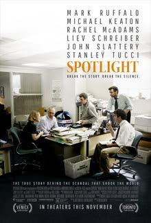 Movie Review- Spotlight; a must see
