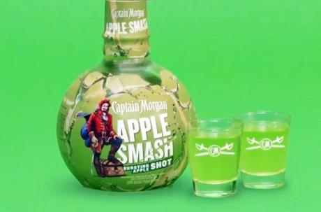 Take the Shot: Captain Morgan Apple Smash for National Rum Day