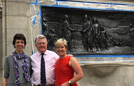 Founders Memorial Gets a Freshening Up   August 1, 2018