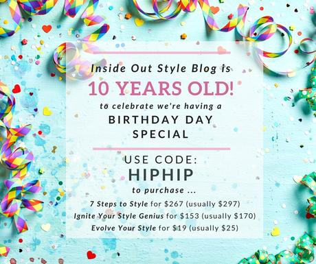 It's My 10 Year Blogiversary And I'm Having a Sale