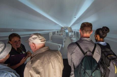 Edinburgh Fringe visitors to view virtual Caledonian Sleeper