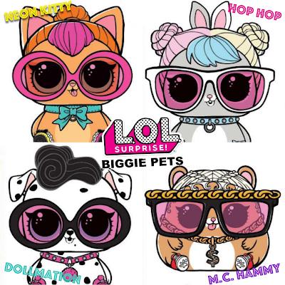 L.O.L Surprise Biggie Pets Review - Paperblog