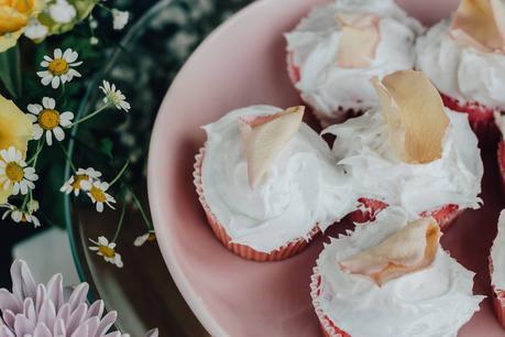Pink Rosé Cupcakes Recipe with Gran Moraine