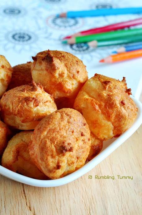 Brazillian Cheese Balls (pão de queijo) 5
