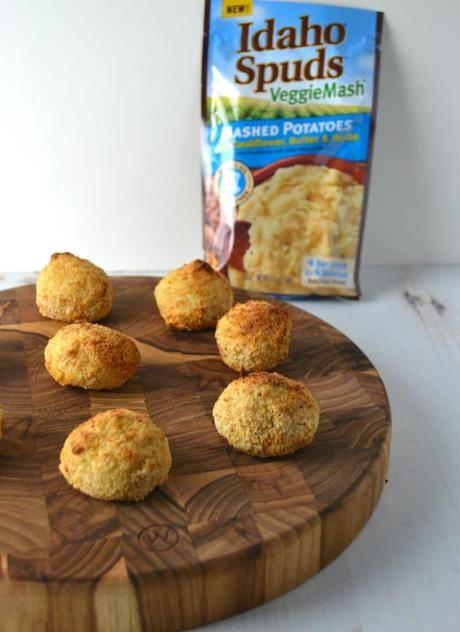 Cauliflower Rellenos De Papa (Ground Beef Croquettes)