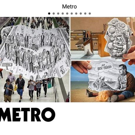 My latest @pencilvscamera works featured today in @metro.co.uk https://ift.tt/2Bnx4hr #art #pencilvscamera #benheineart #drawing #photographie #photography #dessin #creative #creativite
