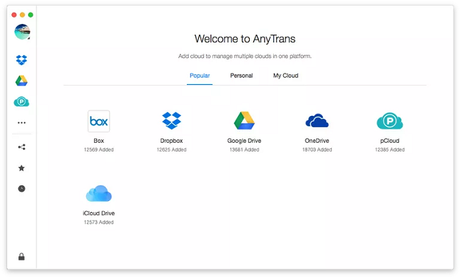 AnyTrans for Cloud Review: Manage Your Cloud Content Easily