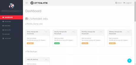 Ottomatik Review:Super Easy & Simple to Use MYSQL Backup Service