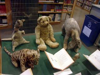 Image: The original Winnie the Pooh toys, From Wikimedia Commons