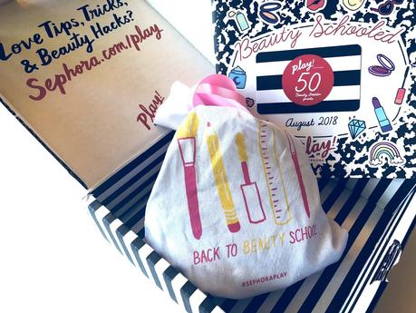 Play! By Sephora August 2018: Unboxing