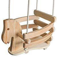 Ecotribe Wooden Horse Swing Set
