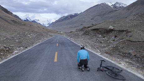 'Everesting' Everest - Cycling the Height of the Worlds Highest Mountain