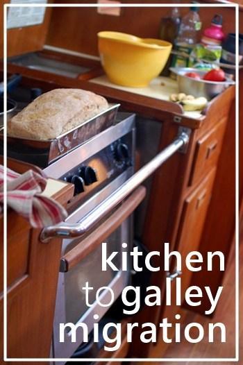 pinterest kitchen to galley migration