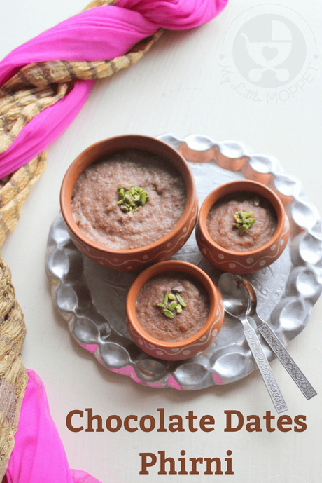 Phirni is one of the the most popular desserts made for Eid, and today we have one recipe that combines taste and nutrition - Chocolate Dates Phirni!