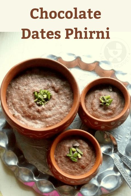 Chocolate Dates Phirni