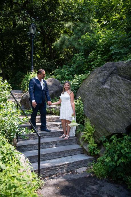 Rafael and Liza's elopement in the Ladies' Pavilion