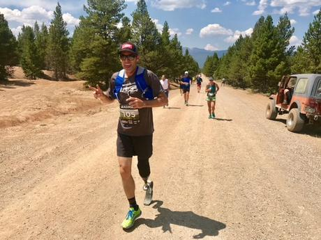Ultrarunner Dave Mackey Becomes First Adaptive Athlete to Complete Leadville Race Series