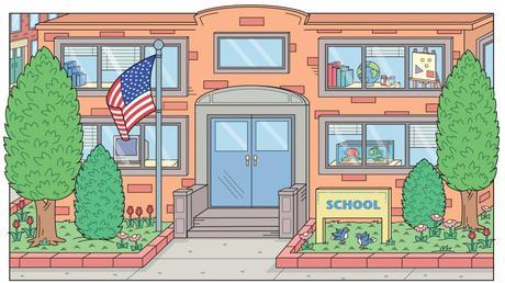 picture of a grade school