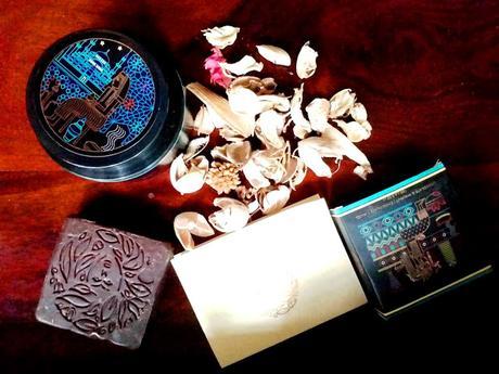 Global Beauty Secrets Turkish Rhassoul Clay Hair Mask & Aztec Chocolate & Walnut Soap