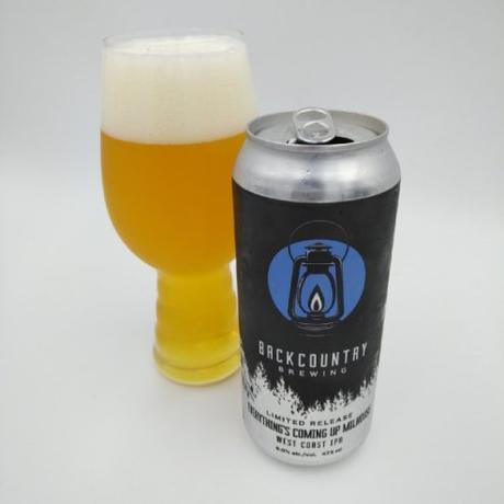 Everything's Coming Up Milhouse West Coast IPA – Backcountry Brewing
