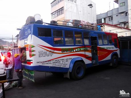 The only bus to Bakun