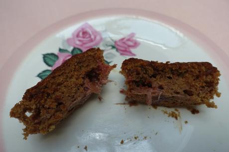 Vegan Strawberry Einkorn Cakes!