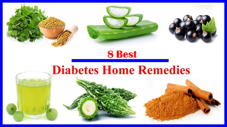 Herbs And 8 Best Home Remedies to Control Diabetes at Home