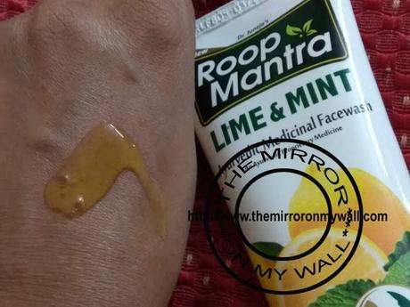 Roop Mantra Lime and Mint Face Wash Review