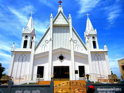 Our lady of Glory Pulicat - the first Parish of Tamil Nadu