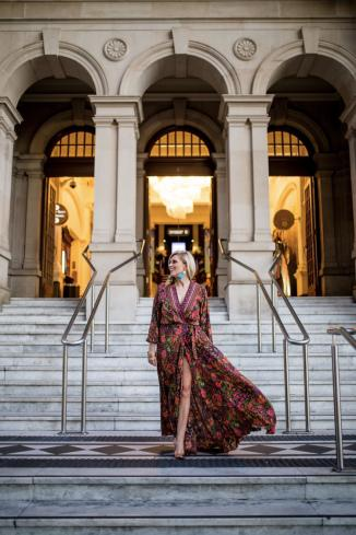 The Rosario || Maxi madness for fashion week