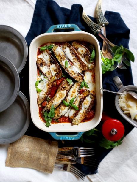 eggplant parmesan quick version