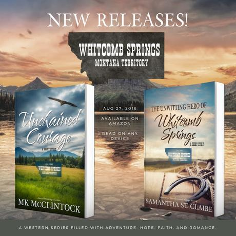 BOOKS & MORE BOOKS: TWO NEW TITLES IN  THE WHITCOMB SPRINGS SERIES