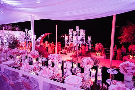 An amazing luxury birthday party