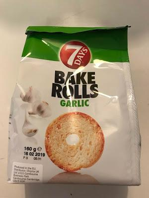 Today's Review: 7 Days Bake Rolls Garlic