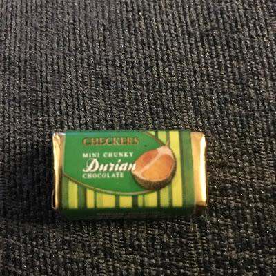 Today's Review: Durian Chocolate