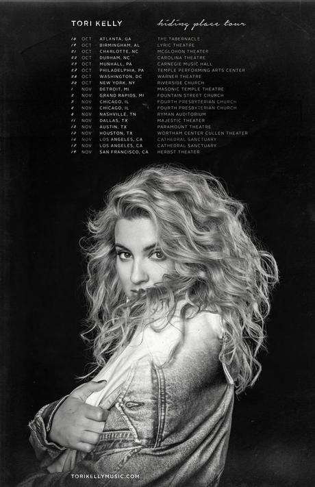 Tori Kelly's CD, Hiding Place, Releases September 14, 2018!