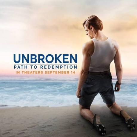 Louis Zamperini's Unbroken: Path To Redemption in Theaters September 14!
