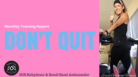 August 2018 Training Report