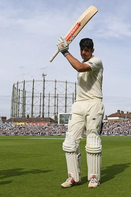 Ending Career in style ~ Alastair Cook bows out with a ton !!
