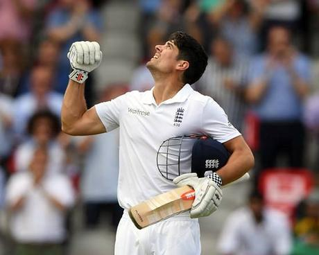 Alastair Cook is playing his last Test innings !!