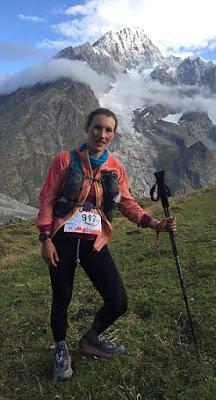 Mont Blanc ~ the woman runner who stopped to feed her 3 month son