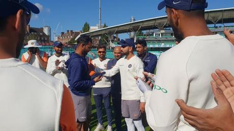 Hanuma Vihari debuts ~ memories of Kennington Oval .. and PB Sreenivas