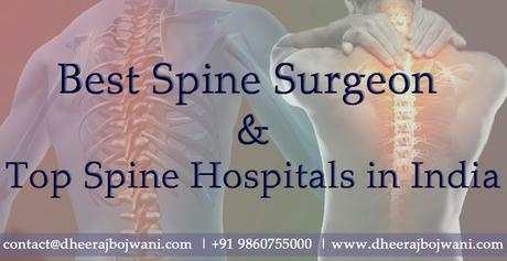 Suffering from spine injuries contact Top Spine Hospitals India