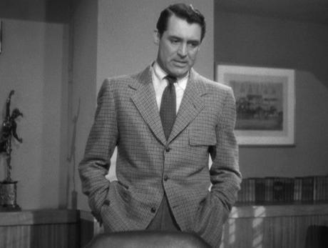 Notorious – Cary Grant in Gun Club Check
