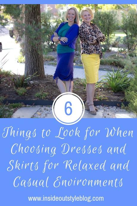 6 Things to Look for When Choosing Dresses and Skirts for Relaxed and Casual Environments