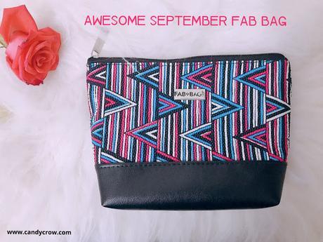 September 2018 Fab Bag review