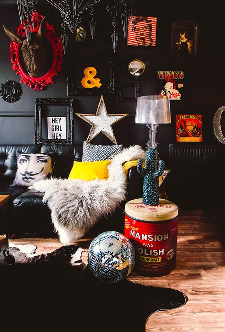 This home is a masterclass in moody interior design. We are sharing a full house tour on the blog to give you plenty of ideas and inspiration for your own home. Owned by Pati Robins, who describes her style as dark, eclectic and whacky.